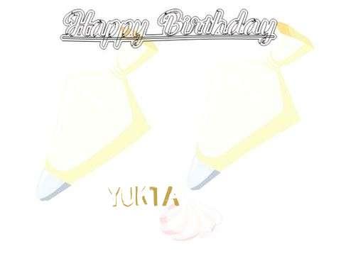 Birthday Wishes with Images of Yukta