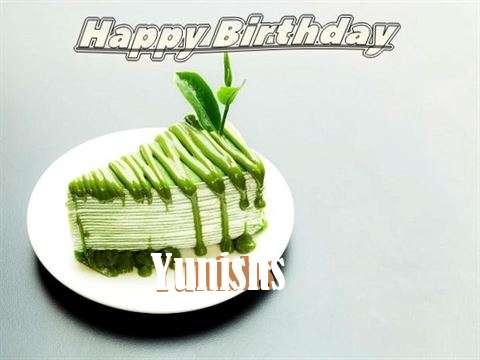 Happy Birthday Yunishs