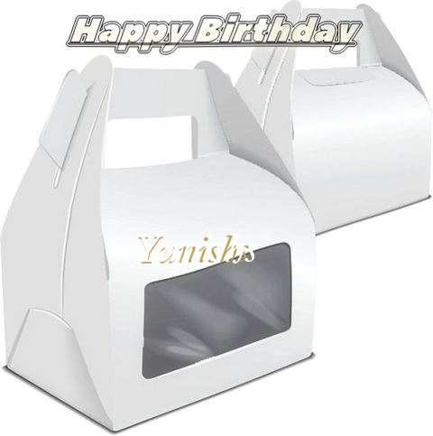 Happy Birthday Wishes for Yunishs