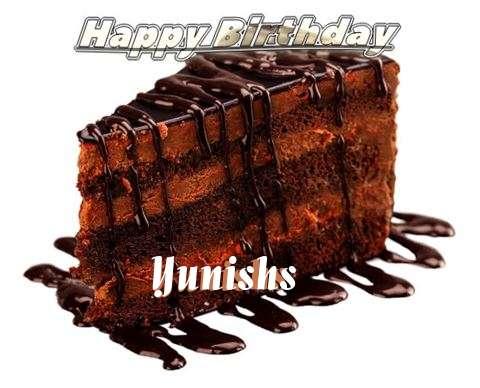 Happy Birthday to You Yunishs