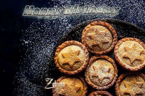 Happy Birthday Wishes for Zabrina