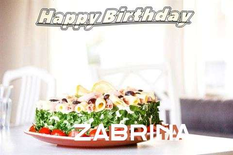 Happy Birthday to You Zabrina