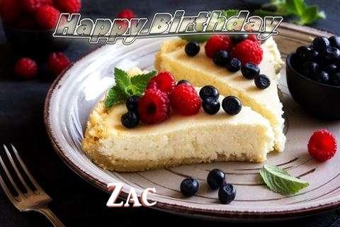 Happy Birthday Wishes for Zac