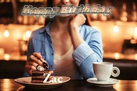 Happy Birthday Cake for Zac