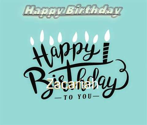 Happy Birthday Zacariah