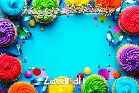 Zacariah Cakes