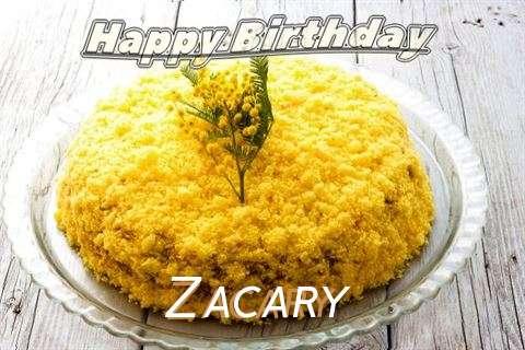 Happy Birthday Wishes for Zacary