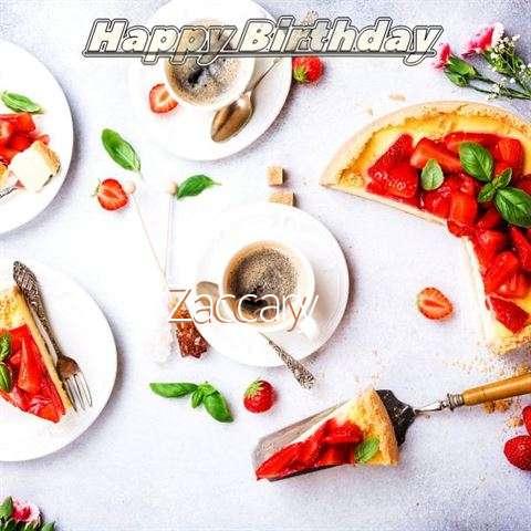 Happy Birthday Zaccary