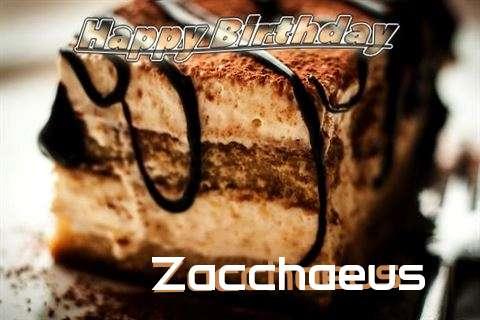 Zacchaeus Birthday Celebration
