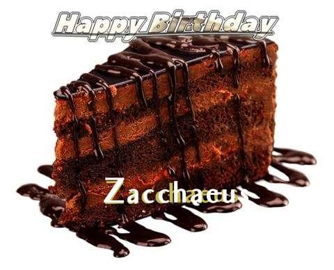 Happy Birthday to You Zacchaeus