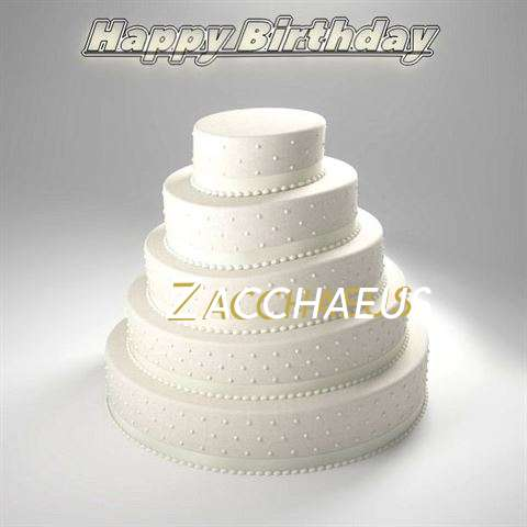 Zacchaeus Cakes