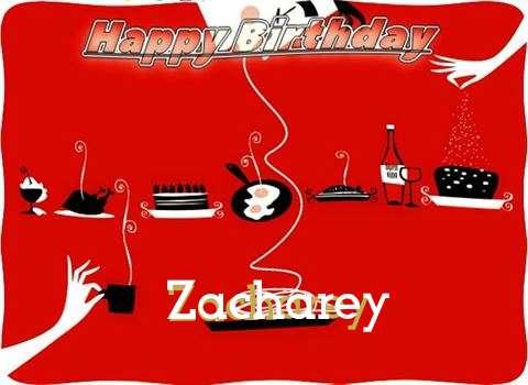 Happy Birthday Wishes for Zacharey