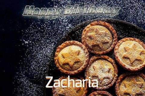 Happy Birthday Wishes for Zacharia