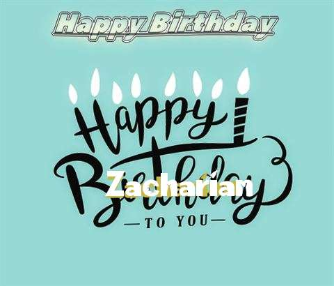 Happy Birthday Zacharian
