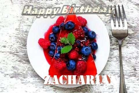 Happy Birthday Cake for Zacharian