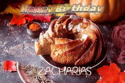 Happy Birthday Zacharias