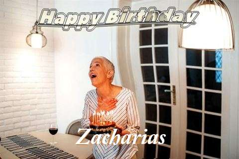 Zacharias Birthday Celebration