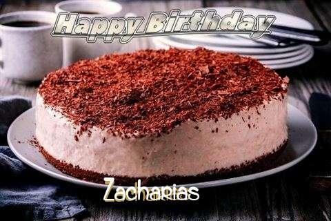 Happy Birthday Cake for Zacharias