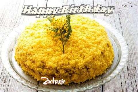 Happy Birthday Wishes for Zacharie