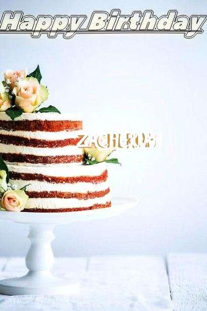 Happy Birthday Zacheriah Cake Image