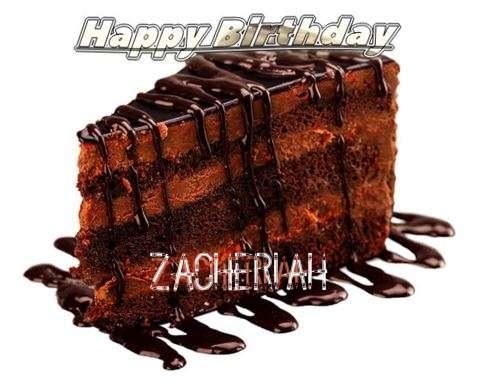 Happy Birthday to You Zacheriah