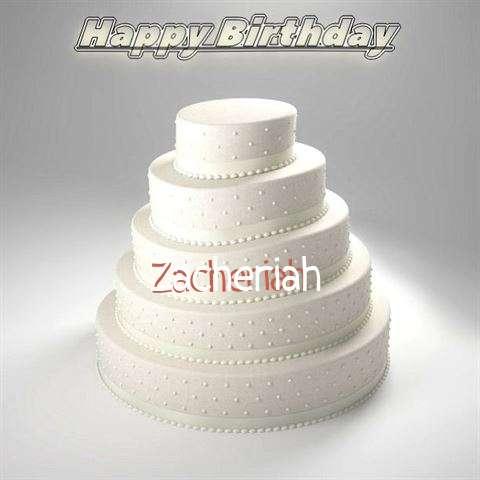 Zacheriah Cakes