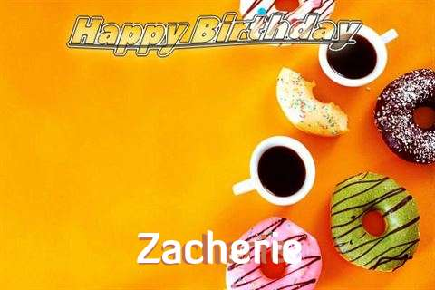 Happy Birthday Zacherie
