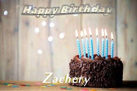 Happy Birthday Zachery