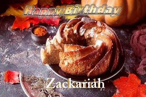 Happy Birthday Zackariah