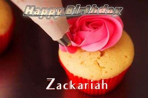Happy Birthday Wishes for Zackariah