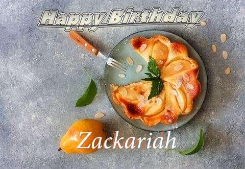 Zackariah Cakes