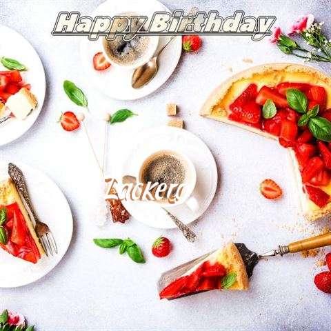 Happy Birthday Zackery