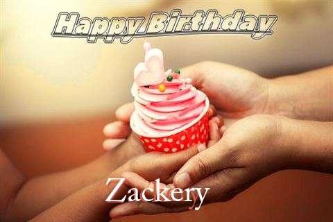 Happy Birthday to You Zackery