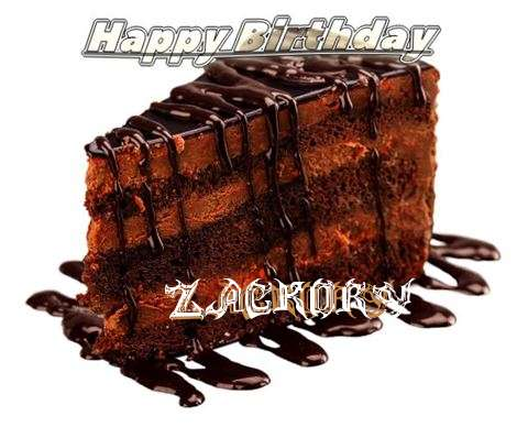 Happy Birthday to You Zackory