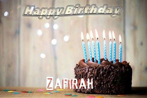 Happy Birthday Zafirah