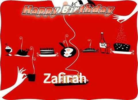 Happy Birthday Wishes for Zafirah