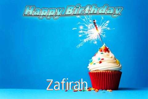 Happy Birthday to You Zafirah