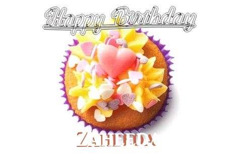 Happy Birthday Zaheeda Cake Image