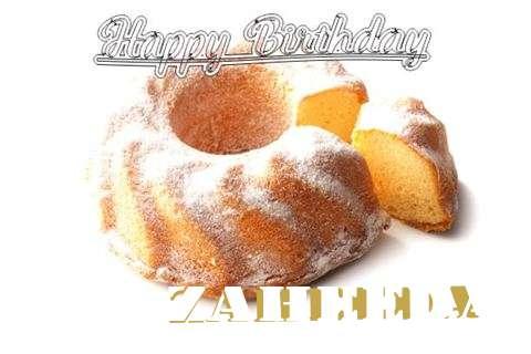 Happy Birthday to You Zaheeda