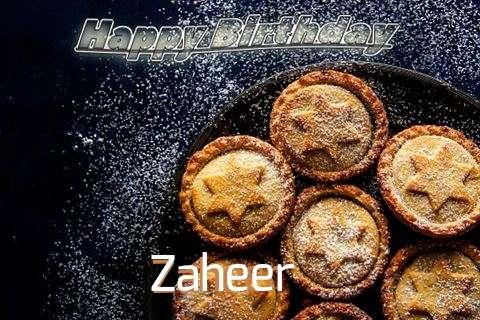Happy Birthday Wishes for Zaheer