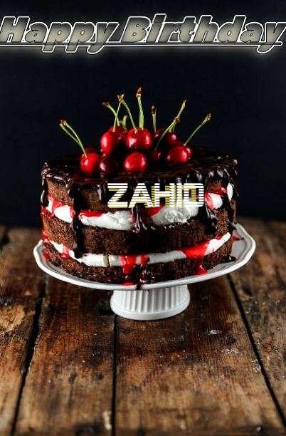 Happy Birthday Zahid