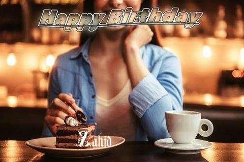 Happy Birthday Cake for Zahid