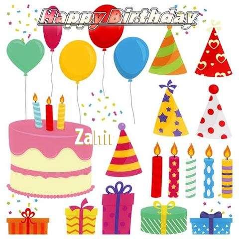 Happy Birthday Wishes for Zahir
