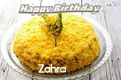 Happy Birthday Wishes for Zahra