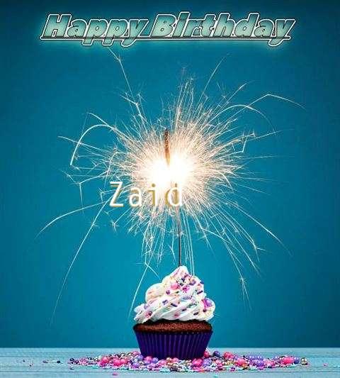 Happy Birthday Wishes for Zaid