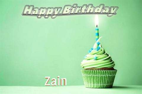 Happy Birthday Wishes for Zain