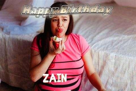 Happy Birthday to You Zain