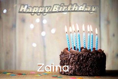 Happy Birthday Zaina