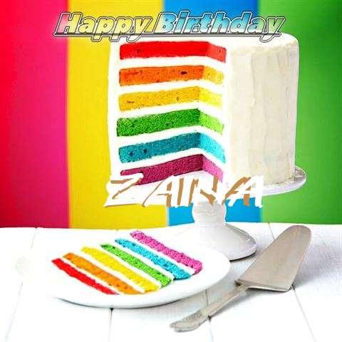 Zaina Birthday Celebration
