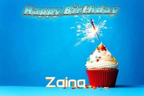 Happy Birthday to You Zaina